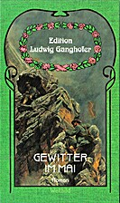 Gewitter im Mai by Ludwig Ganghofer