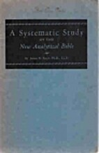 A Systematic Study of the New Analytical…