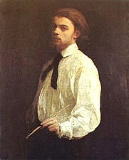 Author photo. Self-Portrait, 1859.