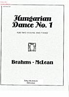 Hungarian Dance No. 1 for Two Violins and…