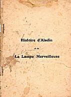 Histoire d'Aladin et de la lampe…