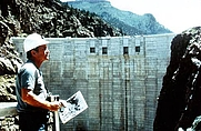 Author photo. Michael Frary at Morrow Point Dam, Colorado<br>Source: <a href=&quot;http://www.usbr.gov/museumproperty/art/biofrary.html&quot;>US Bureau of Reclamation Fine Art Collection</a>