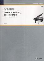 Prima la musica by Antonio Salieri