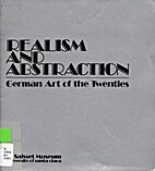 Realism and abstraction, German art of the…