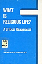 What is Religious Life?: A Critical…