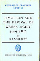 Timoleon and the revival of Greek Sicily,…