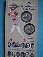 1999 Texas Rangers Media Guide by Texas…