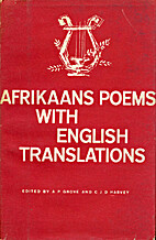 Afrikaans poems,with English translations by…