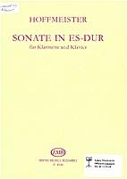 Sonata in es-dur für klarinette und klavier…