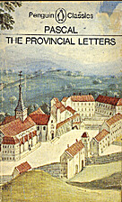 The provincial letters by Pascal