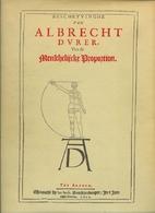 Albrecht Dürer's book on proportion with…