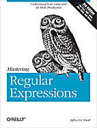 Mastering Regular Expressions by Jeffrey…