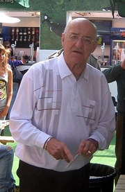 Author photo. Bowen at the Edinburgh Festival Fringe in 2008.