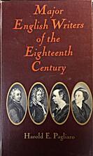 Major English Writers of the Eighteenth…