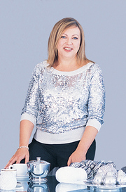 Author photo. Trisha Malcolm. Photo from <a href=&quot;http://www.yarnmarket.com/newsletter/spotlight/vogue.html&quot; rel=&quot;nofollow&quot; target=&quot;_top&quot;><i>YarnMarket</i></a>.