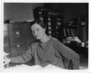 Author photo. Cecilia Helena Payne Gaposchkin (1900-1979), astrophysicist at Harvard College Observatory
