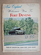 New England Welcomes You to Fort Devens,…