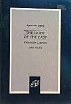 Light of the East by John Paul II