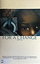 Writing for a Change : An anthology produced…