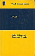 Irish (Teach Yourself) by Myles Dillon