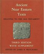Ancient Near Eastern Texts Relating to the…