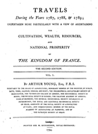 Travels in France during the years 1787,…