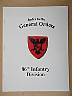 Index to the General Orders of the 86th…
