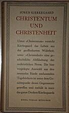 Christentum und Christenheit by Søren…