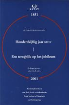 Honderdvijftig jaar KITLV, 1851-2001 : een…