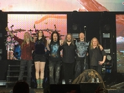 Author photo. Nightwish at a concert in Esch Sur Alzette in Luxembourg on Dec 16, 2015 / Photo by Fafle7429