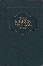 The Merck Manual, thirteenth edition by…
