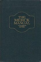 The Merck Manual, thirteenth edition by…