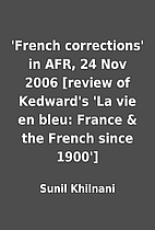'French corrections' in AFR, 24 Nov 2006…