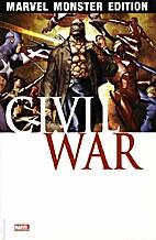Marvel Monster Edition 20: Civil War 2 by J.…