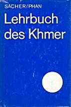Lehrbuch des Khmer by Ruth Sacher
