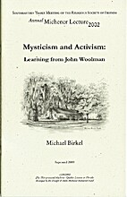 Mysticism and activism : learning from John…