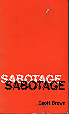 Sabotage by Geoff Brown