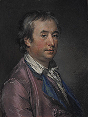 Author photo. Sir William Chambers, 1764, by Francis Cotes. Wikimedia Commons.