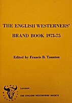 The Brand book, 1973-75 by Francis B.…