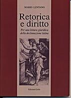Retorica e diritto : per una lettura…