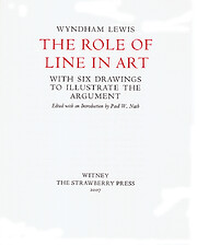 The Role of Line in Art: With Six Drawings…