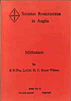 Mithraism by Henry Christopher Bruce Wilson