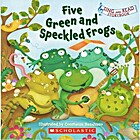 Five Green and Speckled Frogs (Sing and Read…