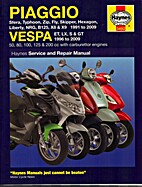 Piaggio and Vespa Scooters (With Carburettor…