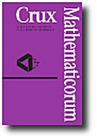 Crux Mathematicorum 2014 V40