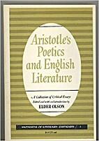 Aristotle's Poetics and English literature;…