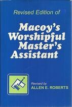 Macoy's Worshipful Master's…
