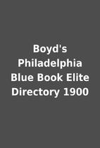 Boyd's Philadelphia Blue Book Elite…