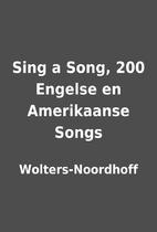Sing a Song, 200 Engelse en Amerikaanse…