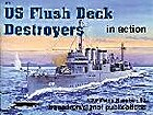 US Flush Deck Destroyer Action by Al Adcock